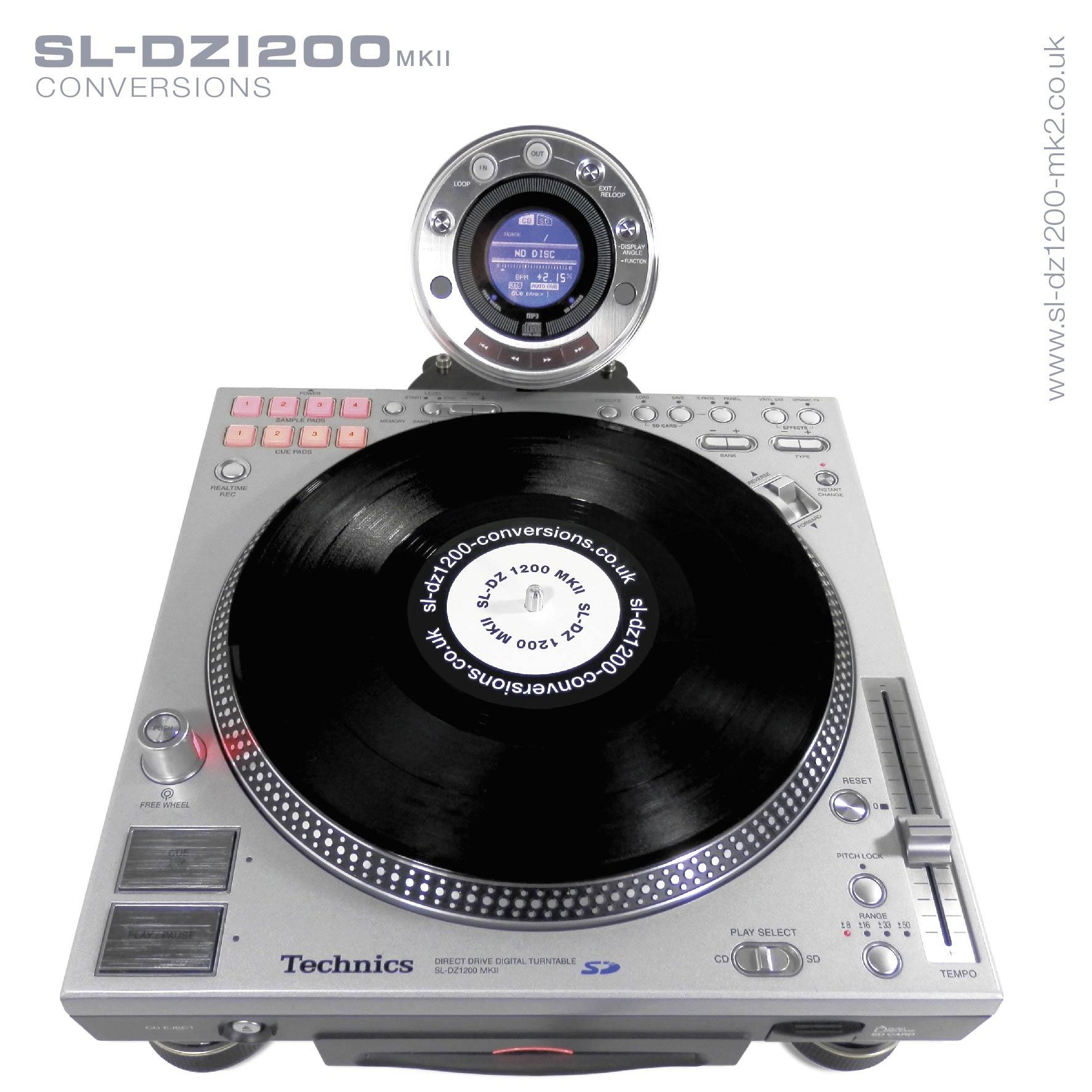 a compact motorized dj controller purely for scratching