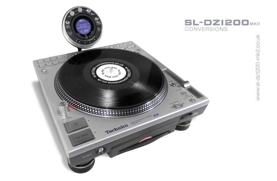 Homebrew mod actually makes Technics SL-DZ1200 good [VIDEO]