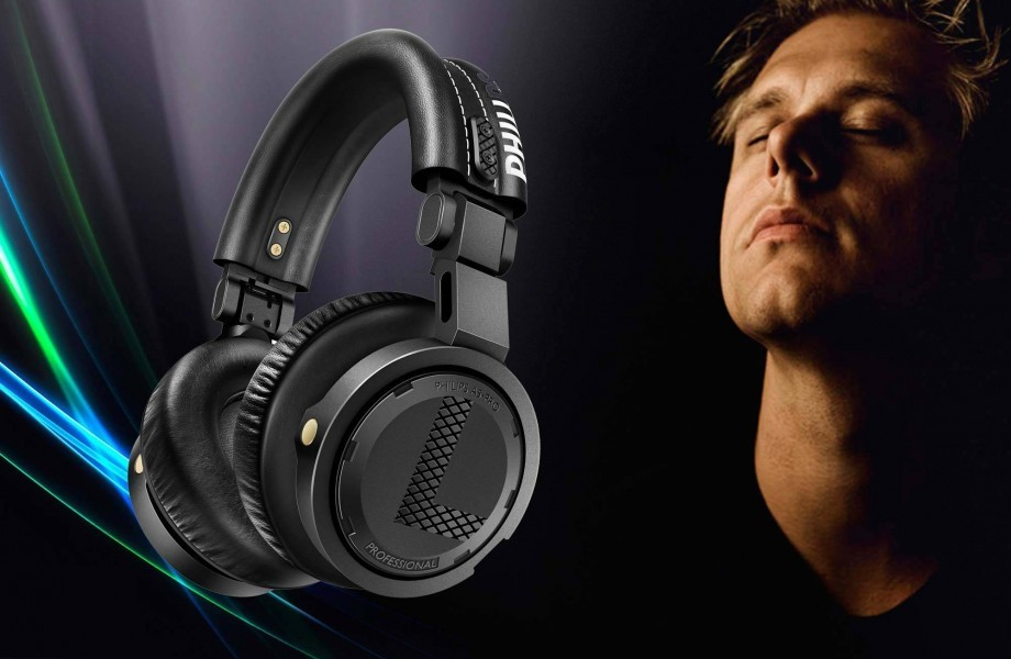 Philips presents Armin Van Buuren's A5-Pro Headphones