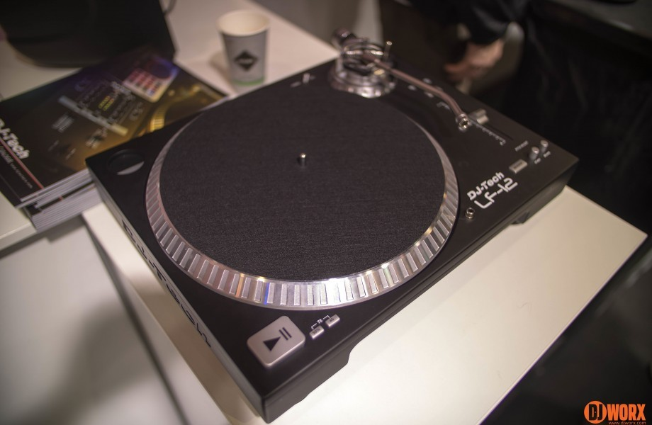 Musikmesse 2014: DJ Tech LF-12 Turntable update