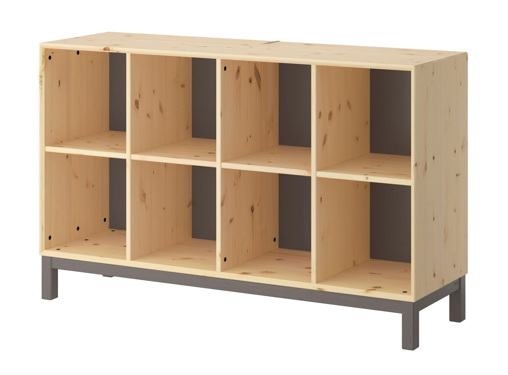 Ikea norn s the solid wood expedit alternative for djs for Ikea lp storage