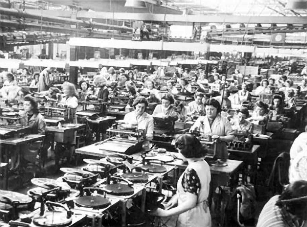 turntable assembly line