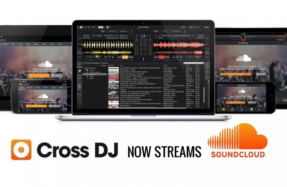 MixVibes Cross — now with Soundcloud