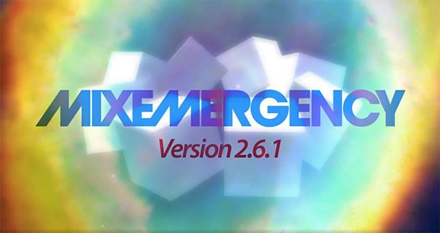 MixEmergency 2.6.1 bugfixes — 2.7 in hot pursuit