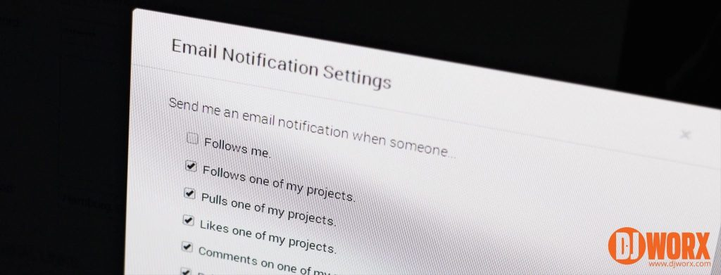 Blend.io e-mail notification settings