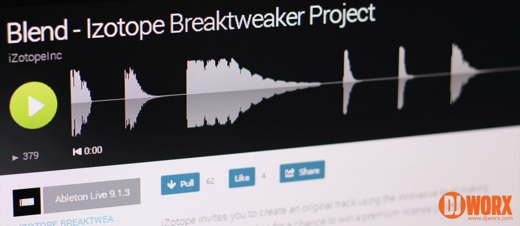 Blend.io iZotope Break Tweaker contest