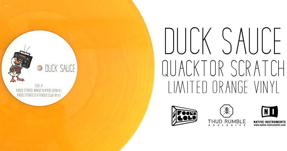 Duck Sauce Control Vinyl Quacktor Scratch Djworx
