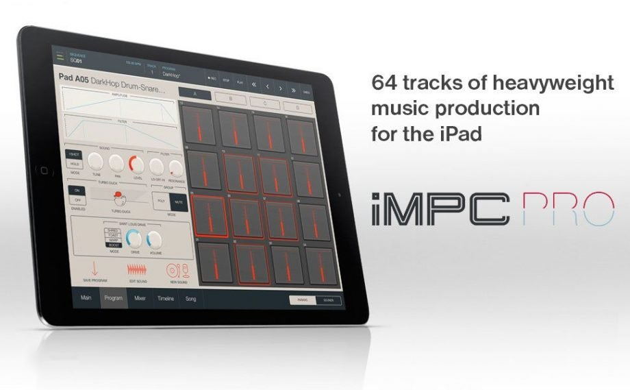 Akai Pro's iMPC Pro — pad bashing, but not too hard