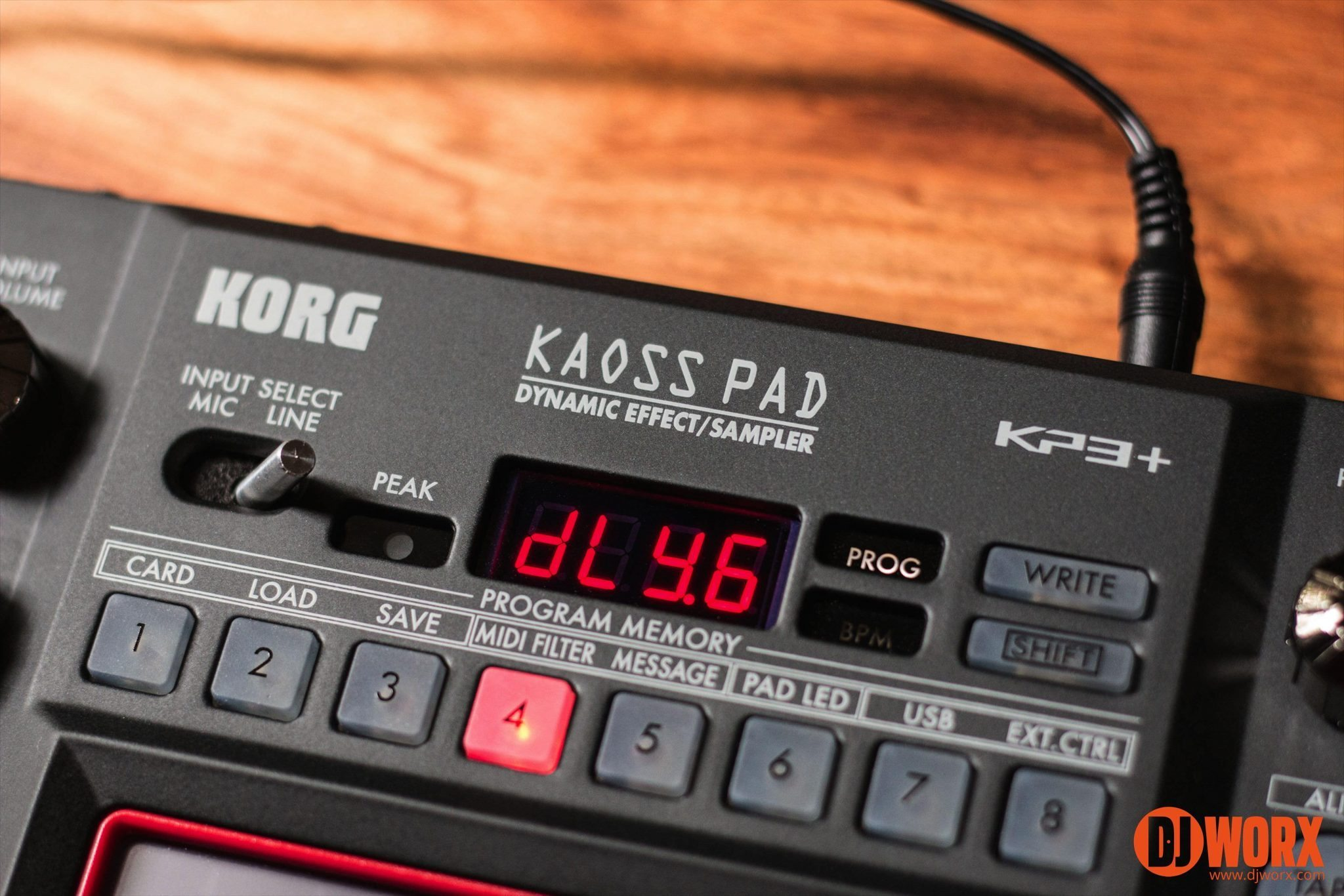 Review Korg Kaoss Pad Kp3 Effects Controller Djworx