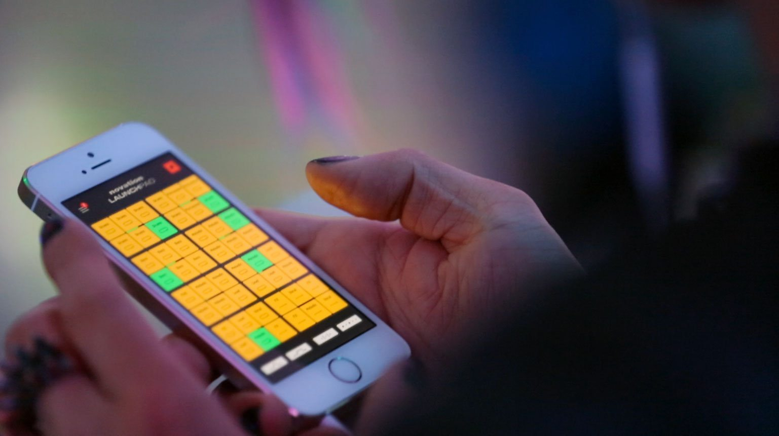 Novation launchpad for iphone