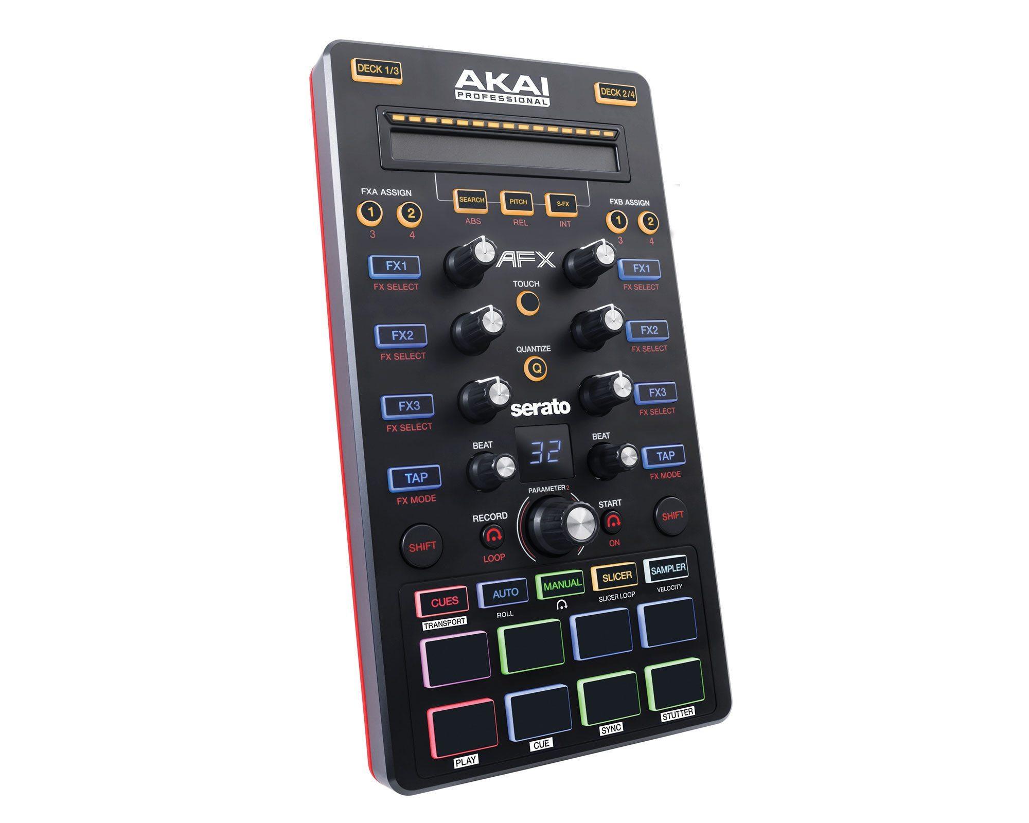 Akai Pro Amx And Afx Bringing Serato To Producers Djworx