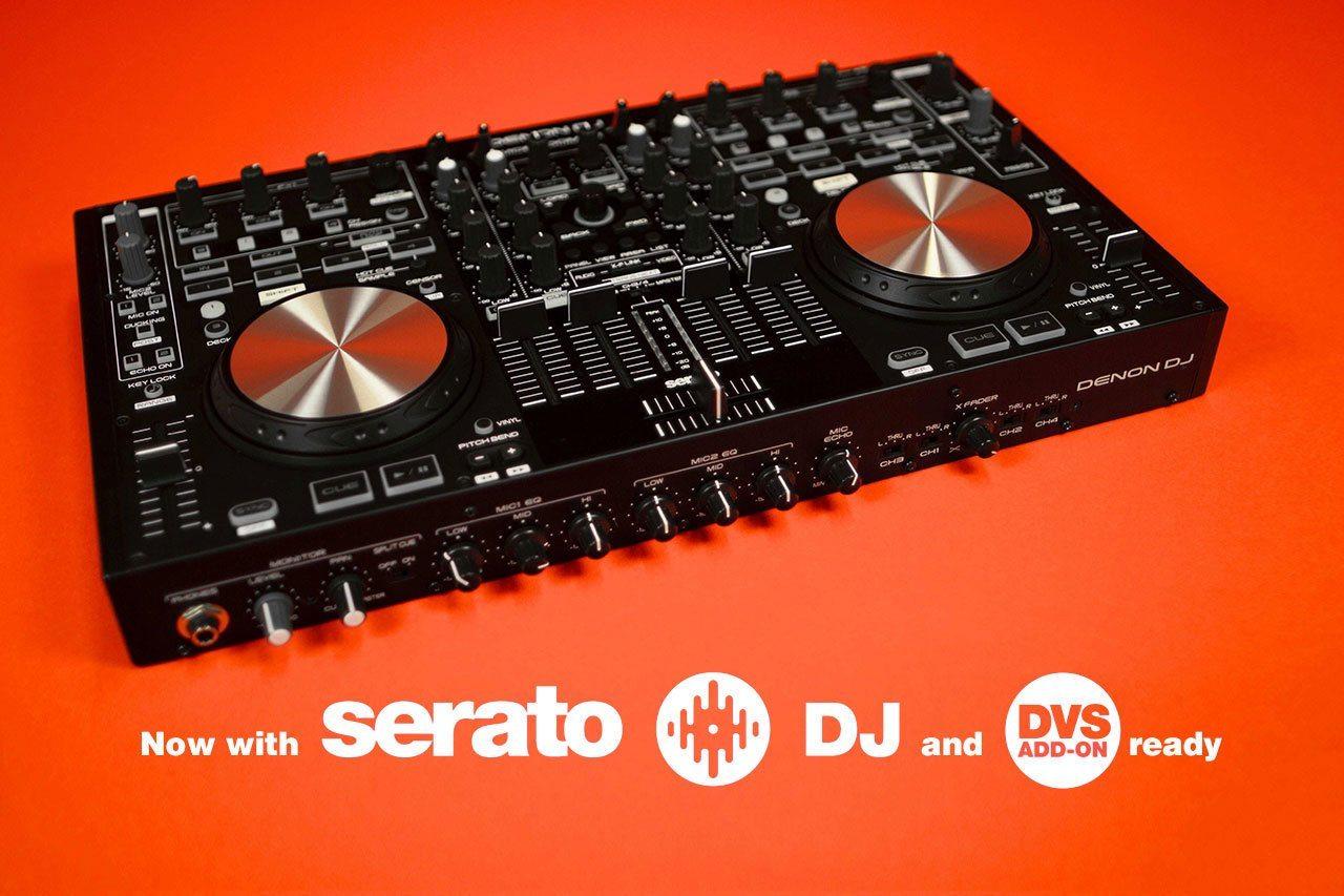 denon mc6000mk2 serato DJ DVS expansion pack