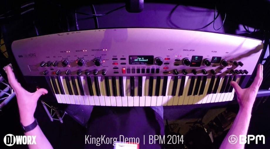 BPM 2014: Korg KingKorg Demo [VIDEO]