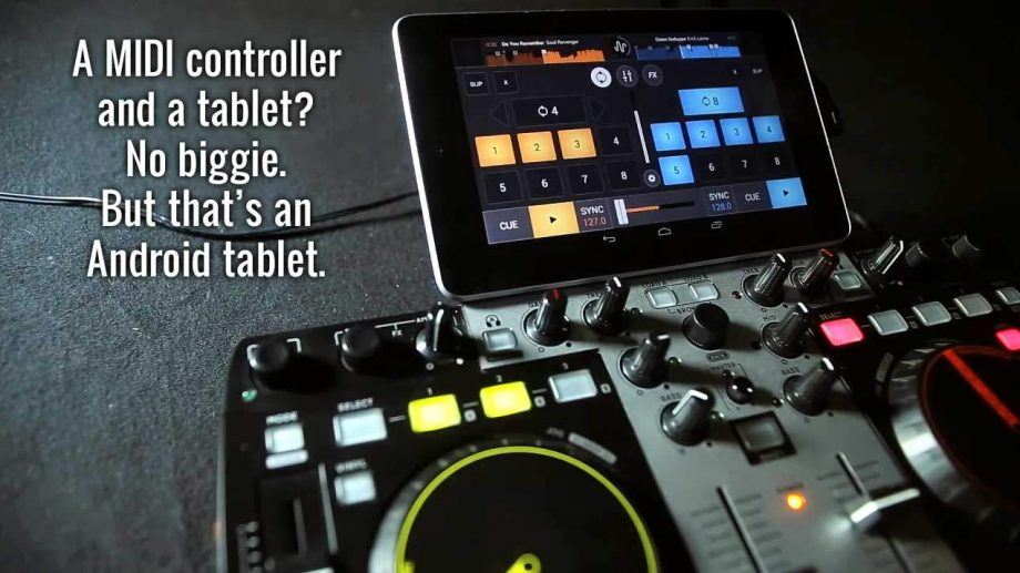 Cross DJ for Android 1.5 — now with MIDI