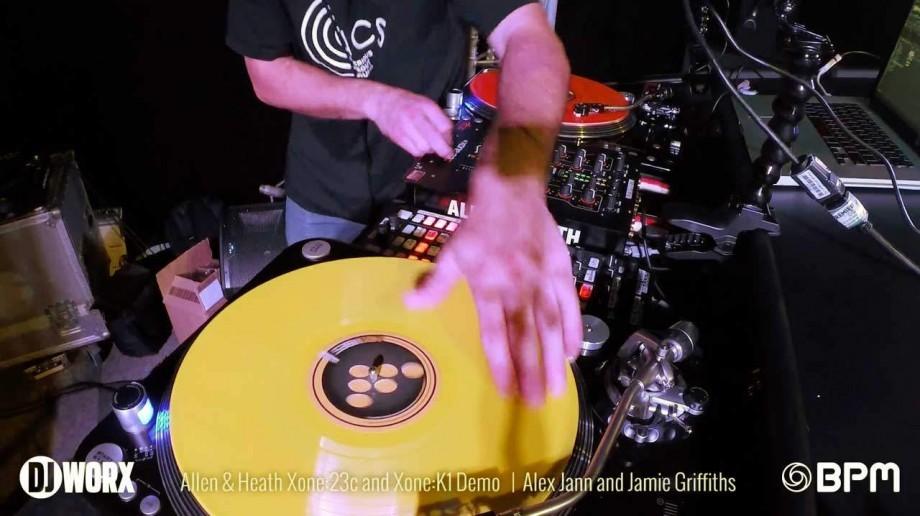 BPM 2014: Allen & Heath Xone:23C and Xone K1 Demo [VIDEO]