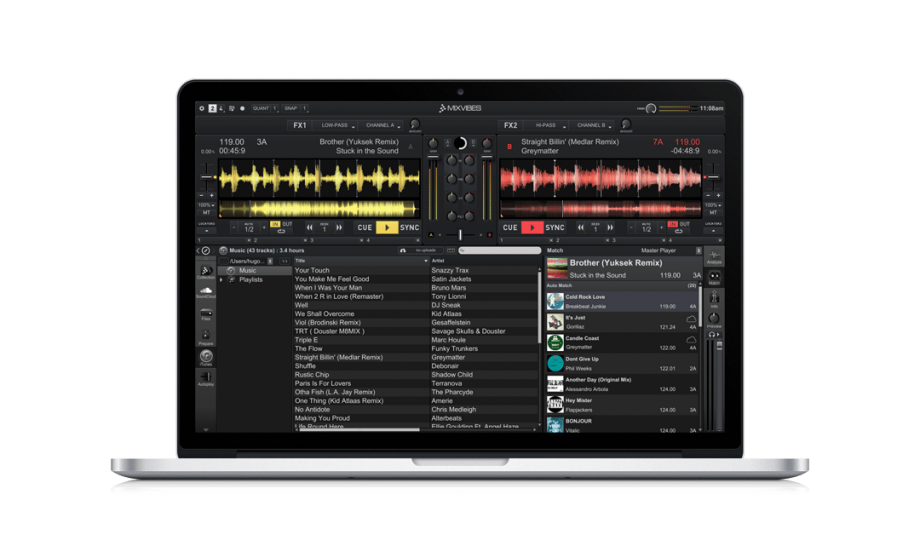 Mixvibes Cross 3.3 goes 64-bit and adds Track Match