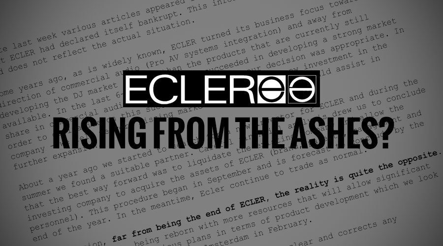 ecler rising