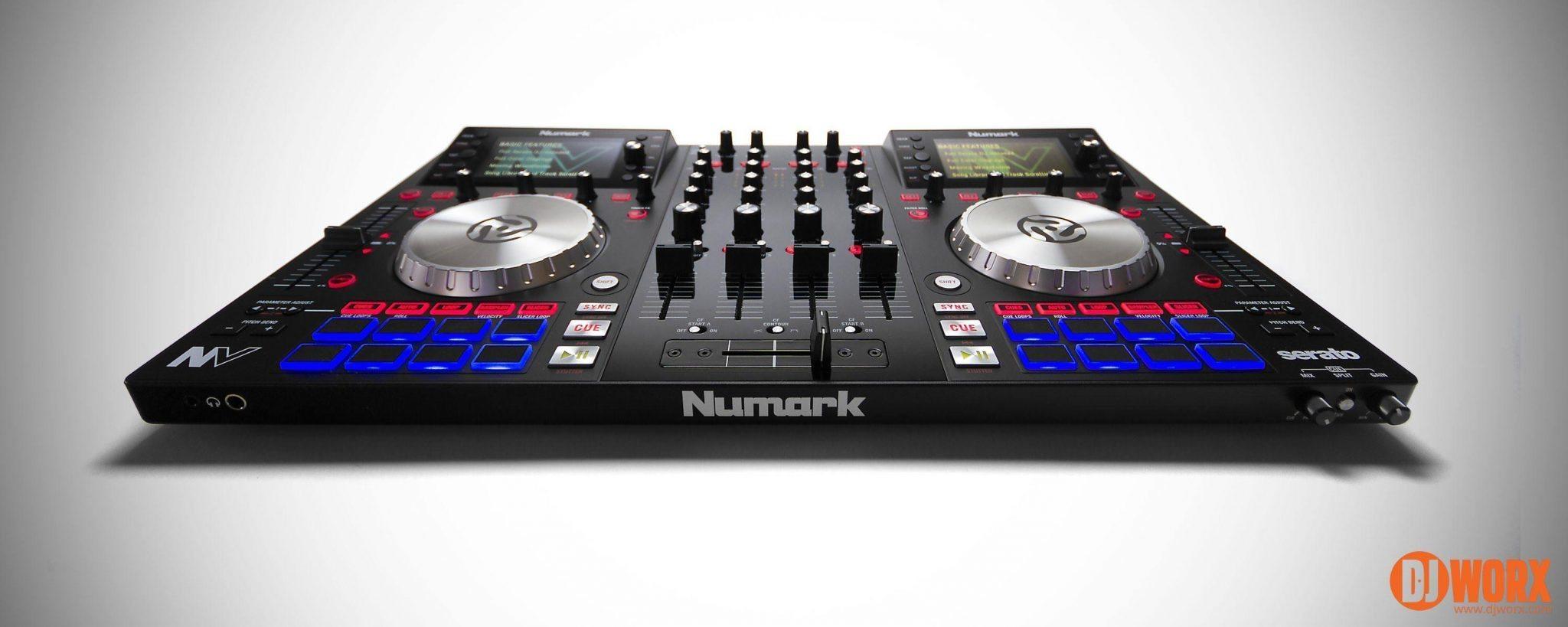 Numark NV Serato DJ controller review (2)