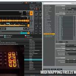 traktor midi mapping freeze mode