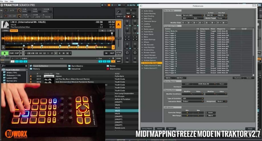 TUTORIAL: Mapping freeze mode in Traktor 2.7 [VIDEO]