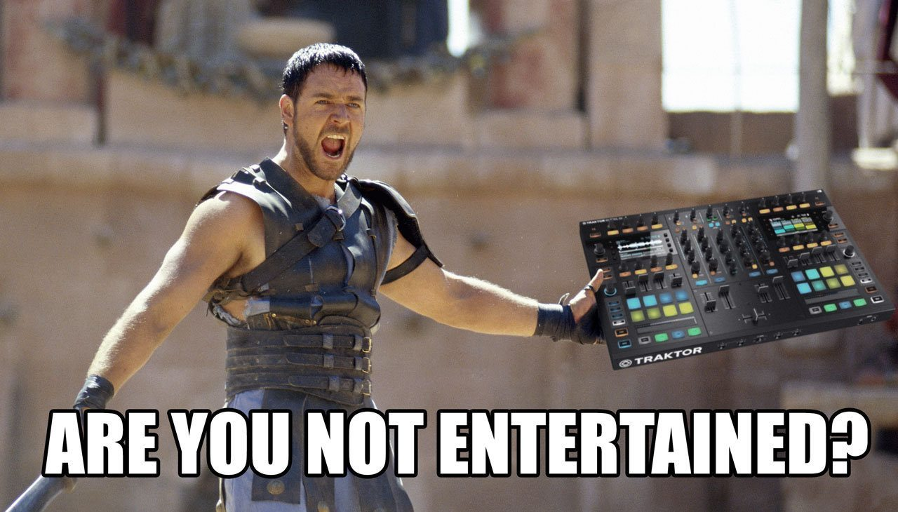 are you not entertained djworx