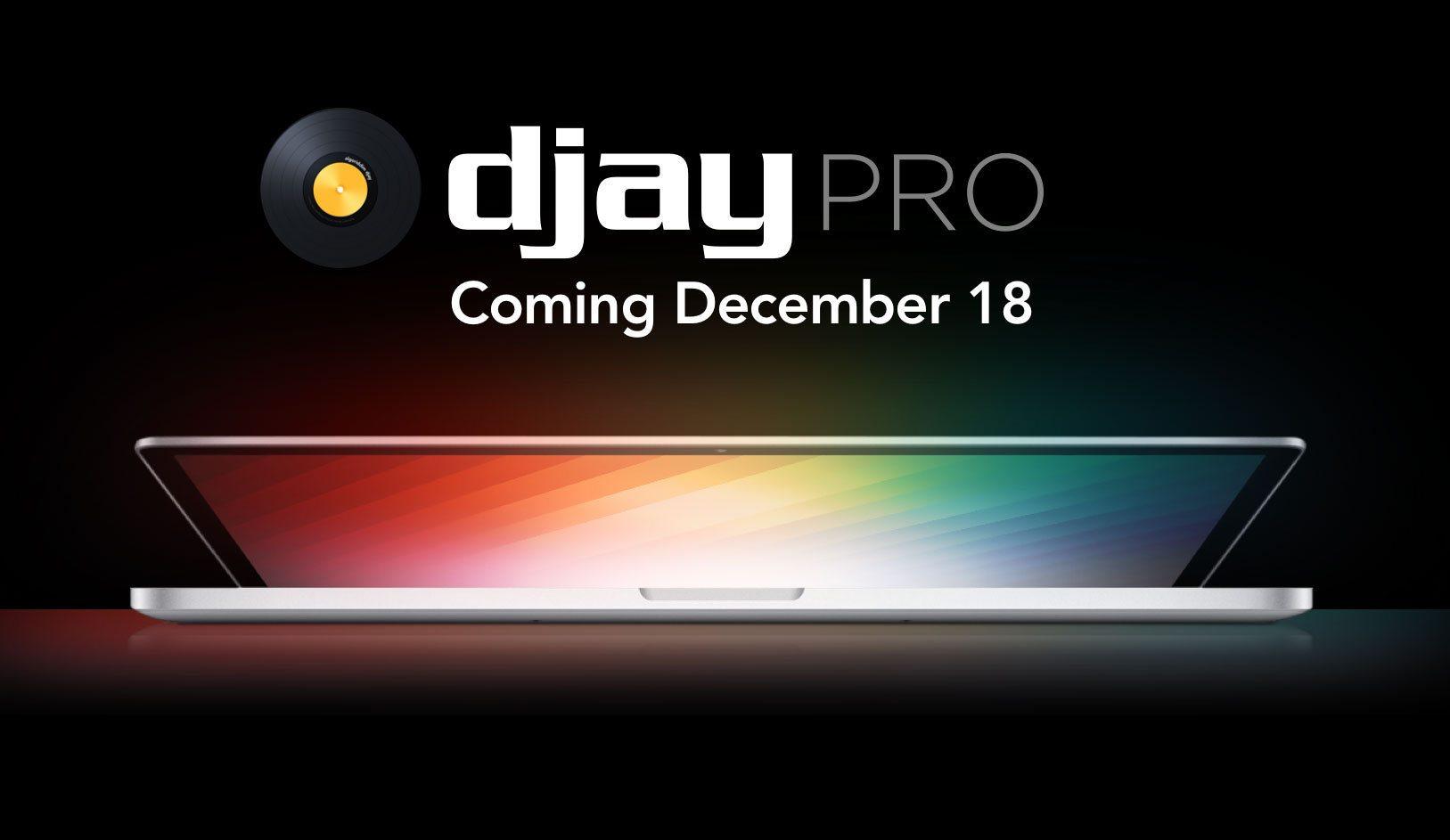algoriddim djay pro for Mac