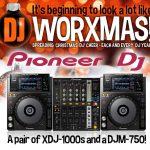 worxmas pioneer xdj-1000 djm-750