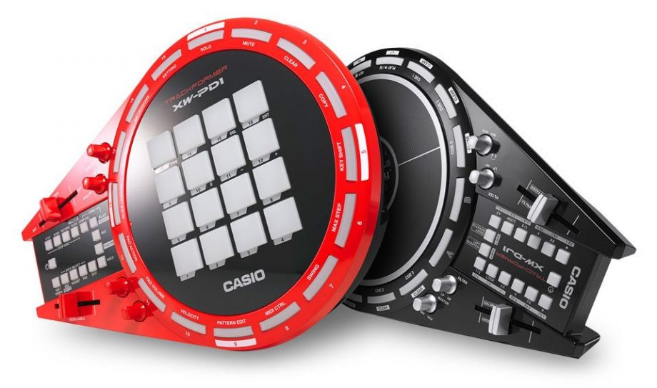 Casio XW-DJ1 and XW-PD1 — portable play and performance