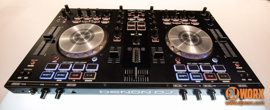 NAMM 2015: Denon DJ MC4000 controller, with pics