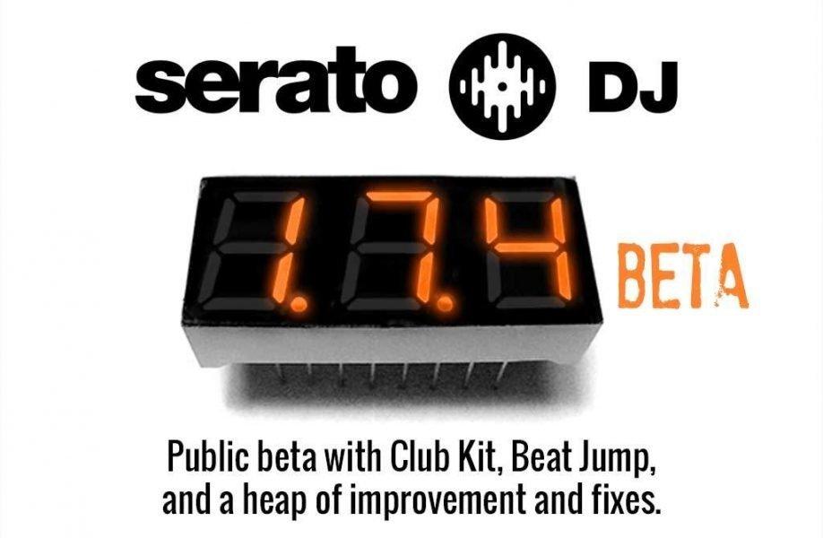 Serato DJ 1.7.4 Beta — DVS Club Kit, Beat Jump and more