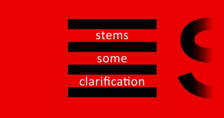 Native Instruments Stems: Some Clarification