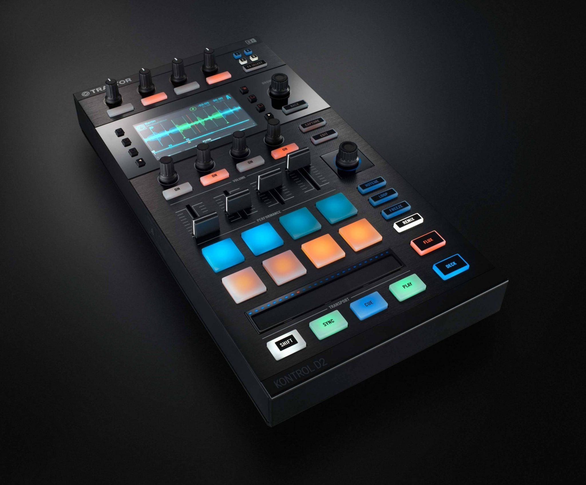 NI Traktor Kontrol D2 DJ controller (4)