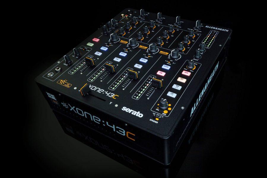Musikmesse 2015 — Allen & Heath Xone:43C Serato DJ mixer