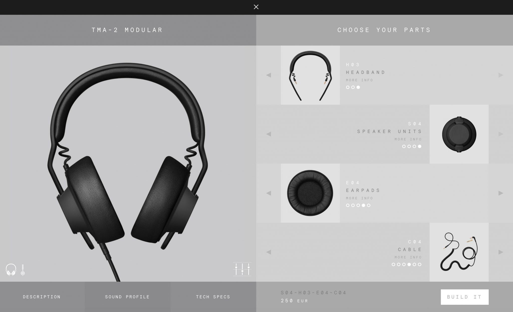 aiaiai tma-2 modular headphone