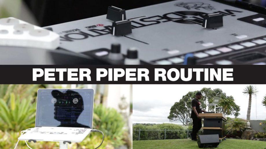 Serato Icon — DJ Jazzy Jeff's Peter Piper routine + interview