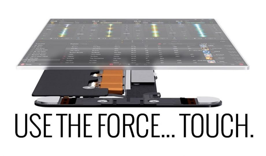 djay Pro update uses the force. Well… force touch