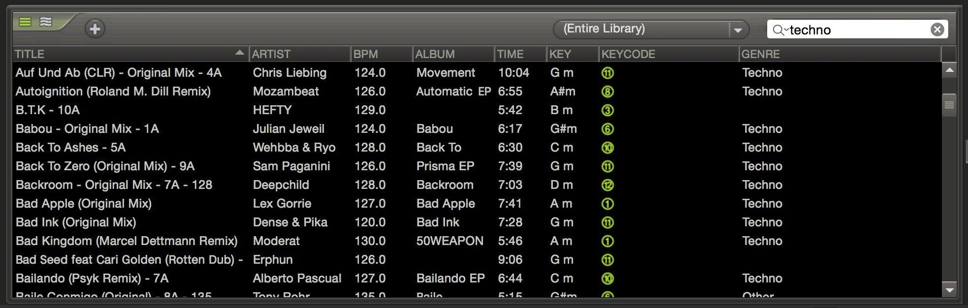 mixmeister-fusion-library-search