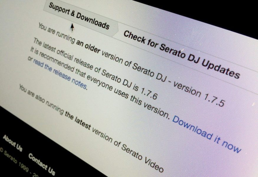UPDATE: Serato DJ 1.7.6 is Denon DS1 ready