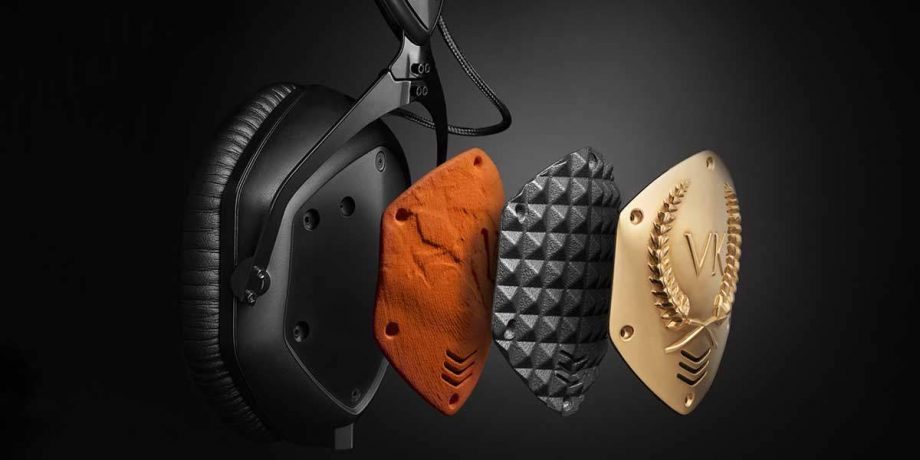 V-MODA 3D printing your brand on your headphones