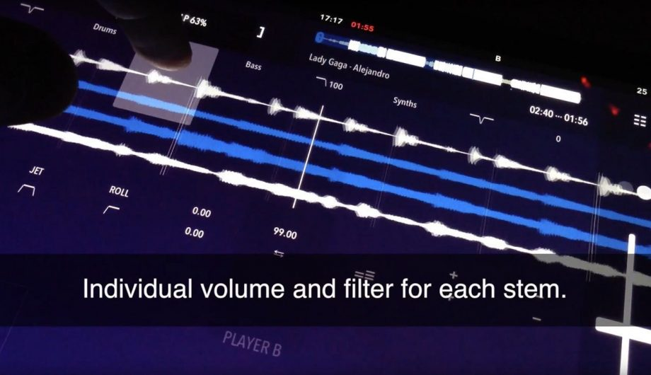 TEASER: DJ Player Pro for iOS — with Stems
