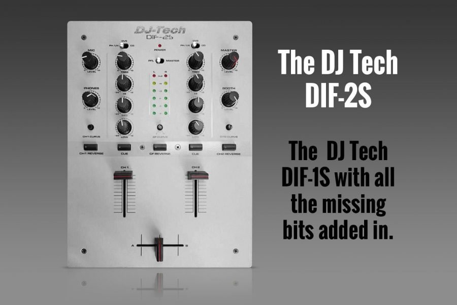 SNEAK PEEK: DJ Tech DIF-2S scratch mixer