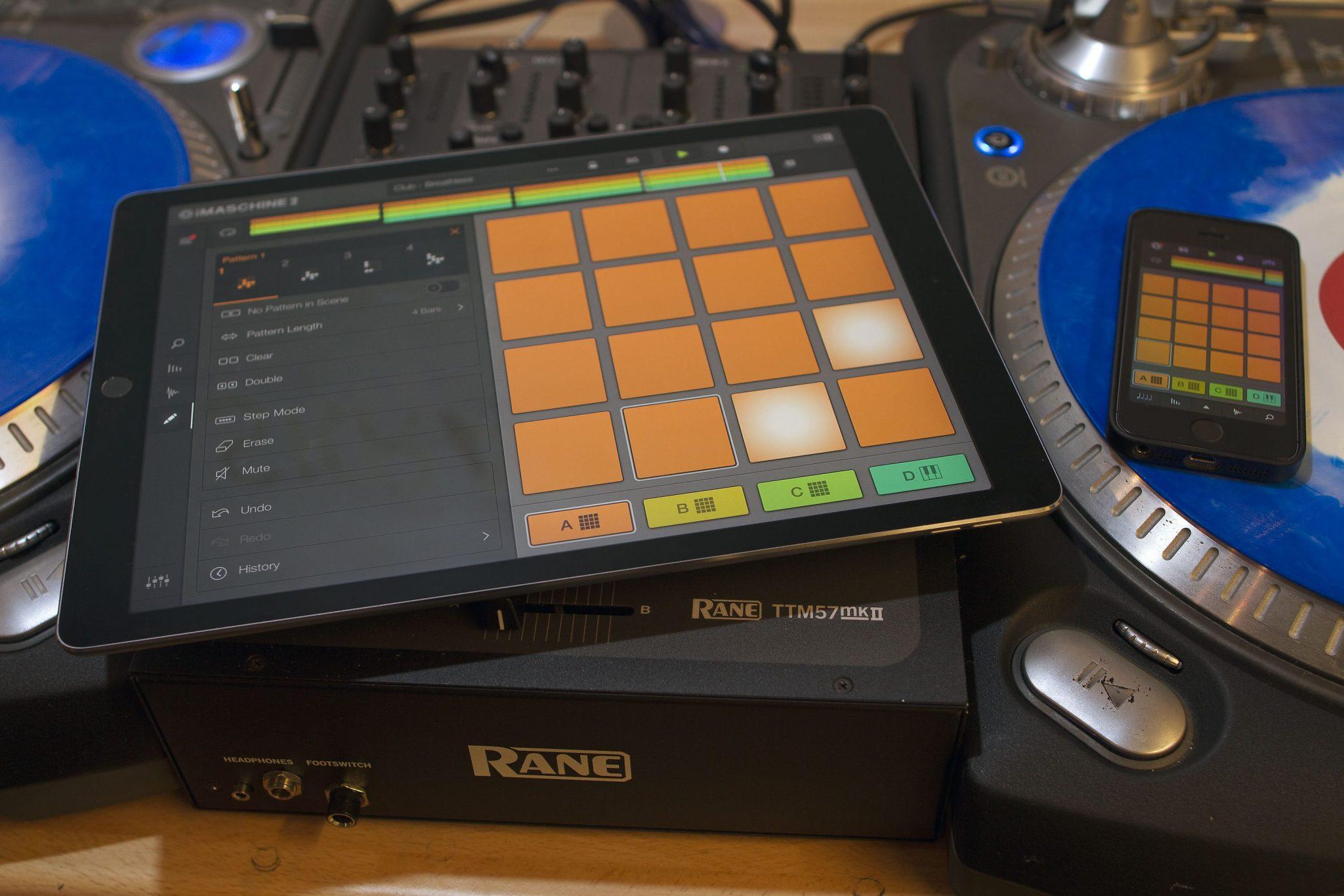 Native instruments iMaschine2 iPad Pro