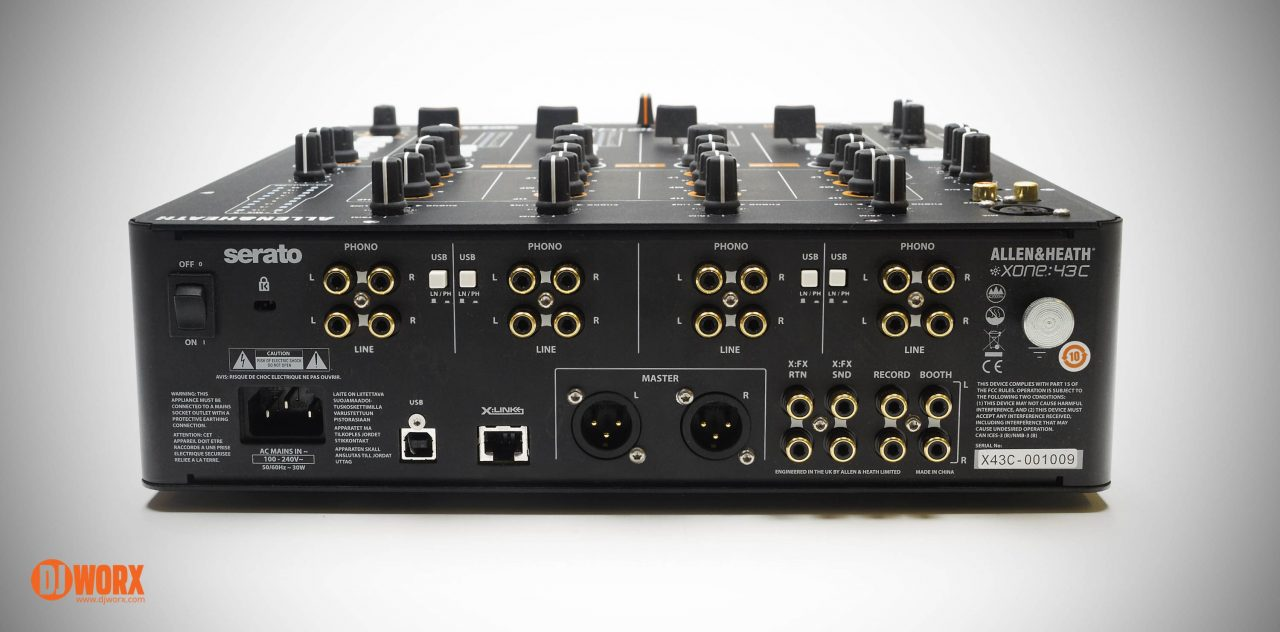 REVIEW: Allen & Heath Xone:43C Serato DJ Mixer 3