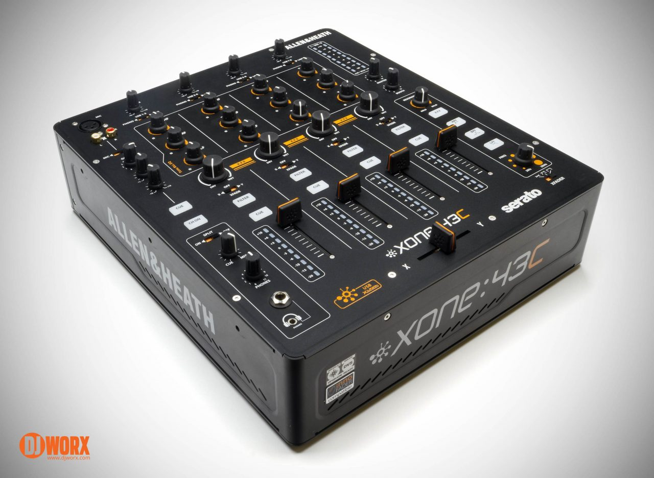 Allen & Heath Xone:43C serato DJ mixer review (20)