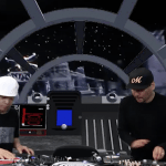Qbert and Mix Master Mike Star Wars Scratch turntablism