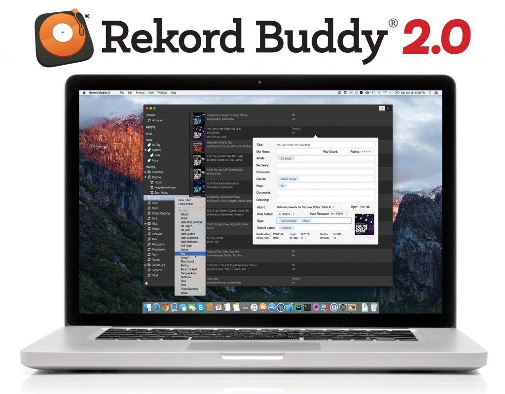 NAMM 2016: Rekord Buddy 2.0 limited beta announced   DJWORX