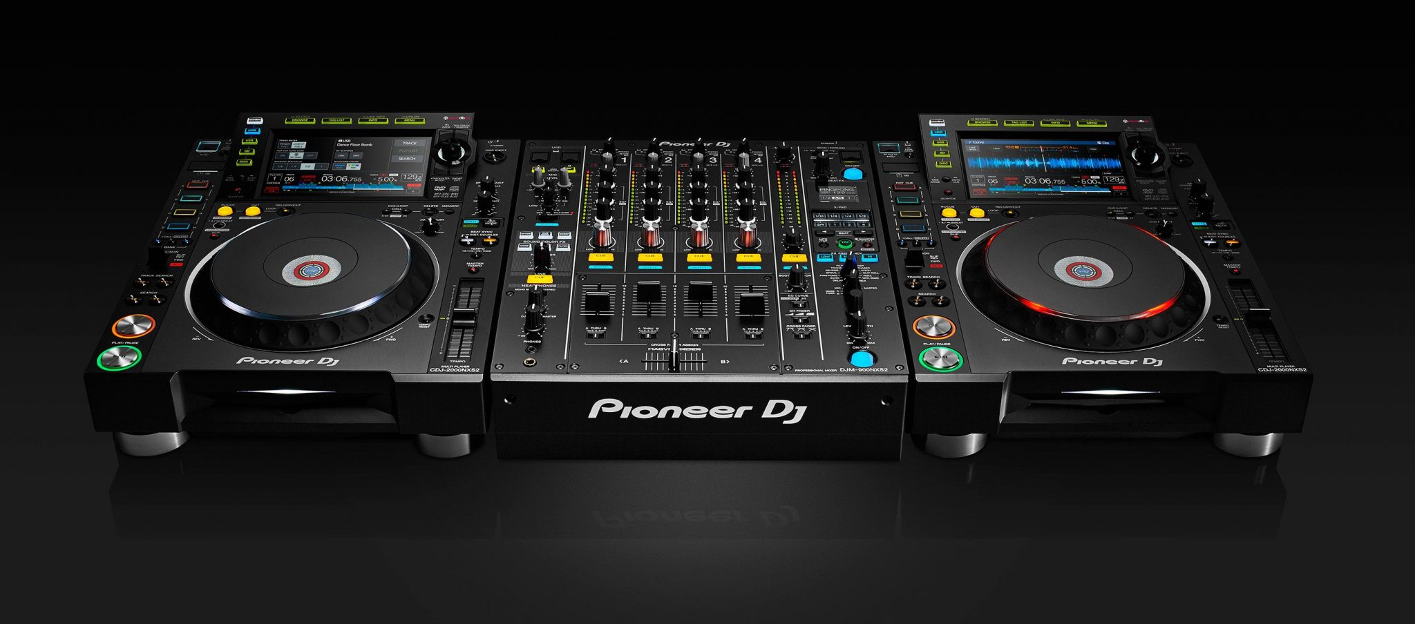 new pioneer dj djm 900nxs2 and cdj 2000nxs2 djworx. Black Bedroom Furniture Sets. Home Design Ideas