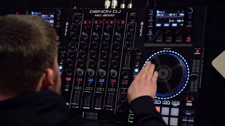 VIDEO: DJ Cable on the Denon MCX-8000