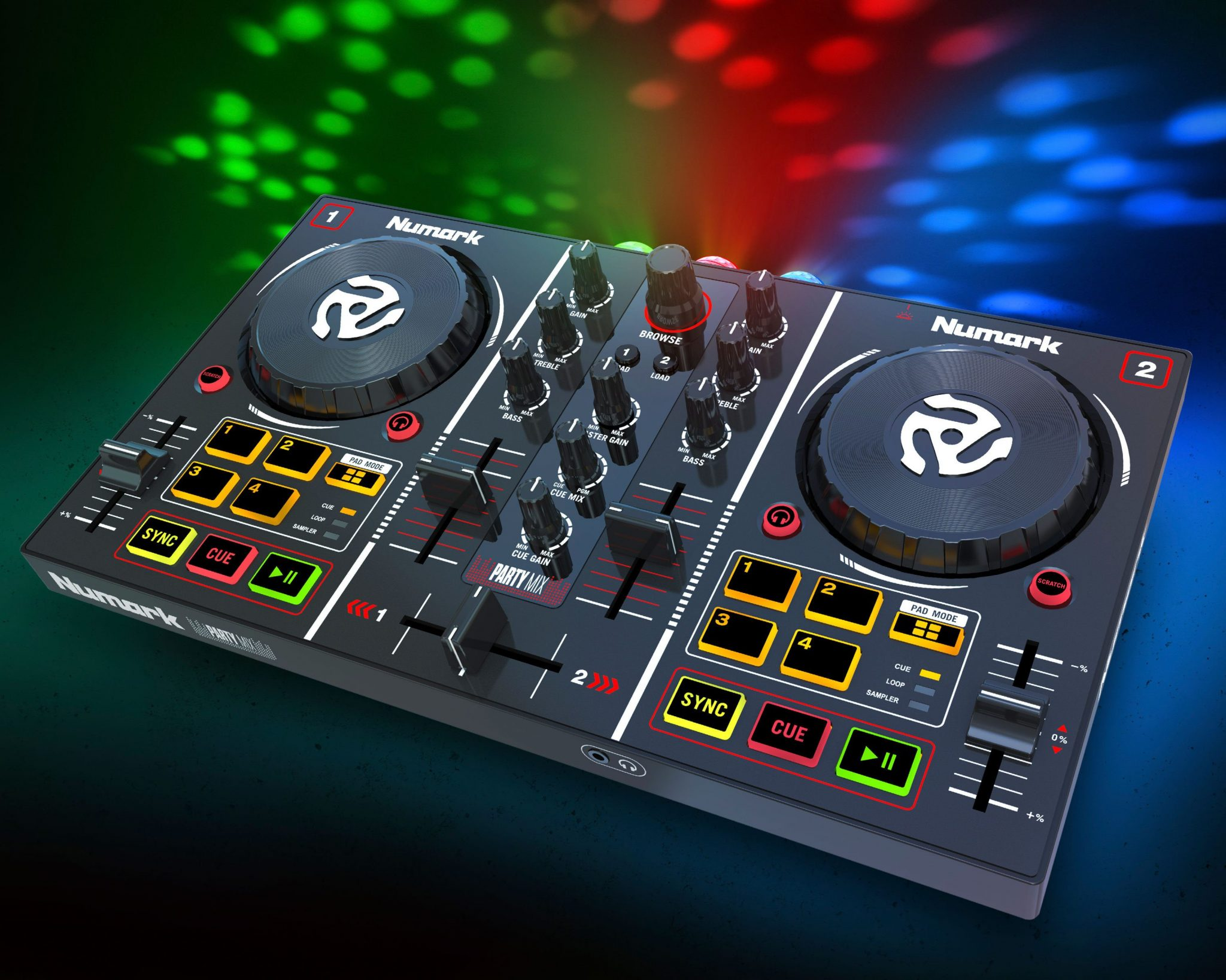 Numark Party Mix — it's a party in your bedroom | DJWORX