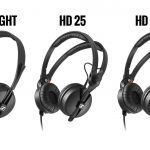 Sennheiser HD 25 DJ headphone range